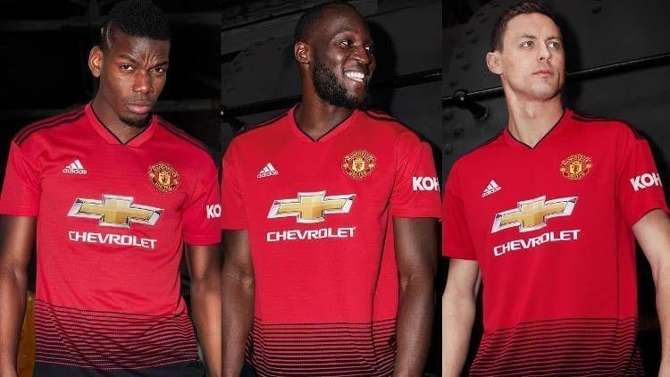 Manchester United Kit Jersey Camiseta 2018-19