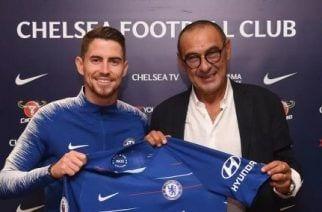 Maurizio Sarri y Jorginho fichan por el Chelsea