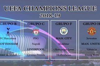 Al United, Liverpool y Tottenham le tocan los cocos de la Champions League