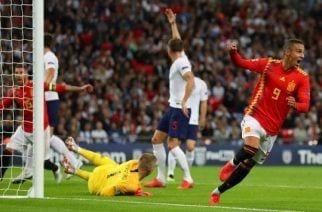 España neutraliza a una débil Inglaterra