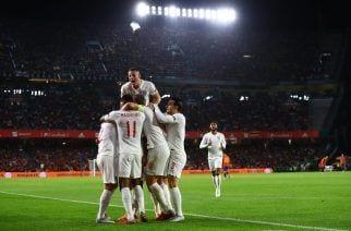 Inglaterra la devuelve y vence en el Benito Villamarín