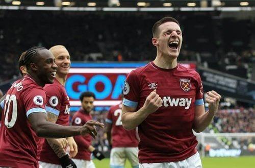 Declan Rice se corona y el West Ham suma los tres puntos